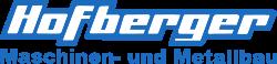 Hofberger Maschinen- und Metallbau Logo